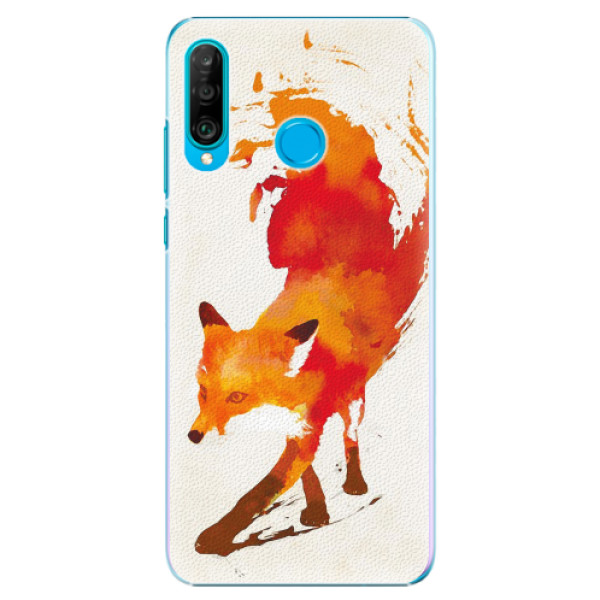 Plastové pouzdro iSaprio - Fast Fox - Huawei P30 Lite