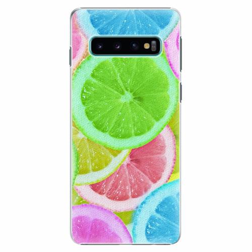 Plastový kryt iSaprio - Lemon 02 - Samsung Galaxy S10