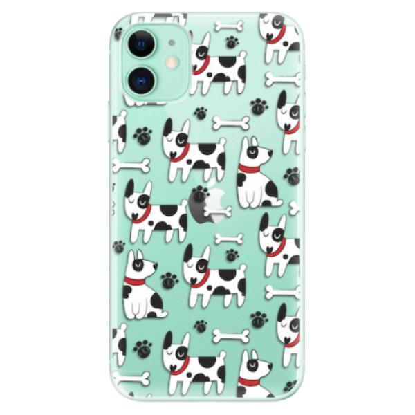 Odolné silikonové pouzdro iSaprio - Dog 02 - iPhone 11