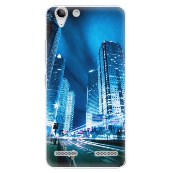 Plastové pouzdro iSaprio - Night City Blue - Lenovo Vibe K5