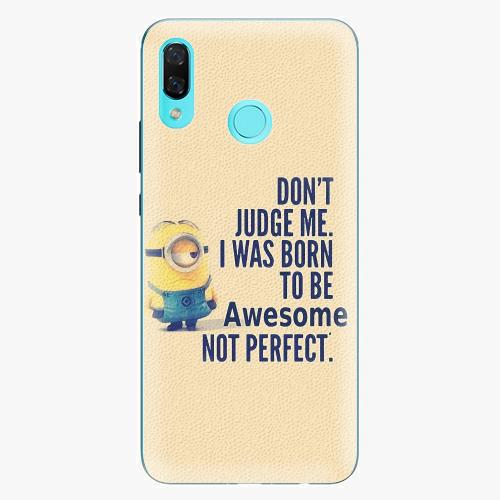 Plastový kryt iSaprio - Be Awesome - Huawei Nova 3