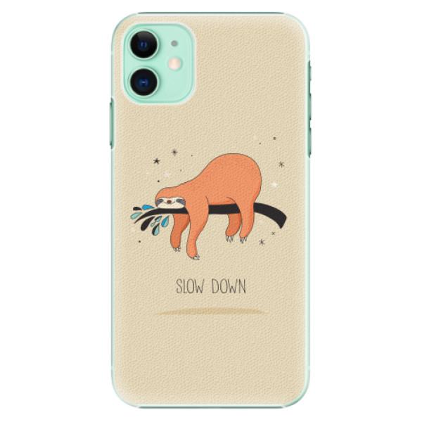 Plastové pouzdro iSaprio - Slow Down - iPhone 11