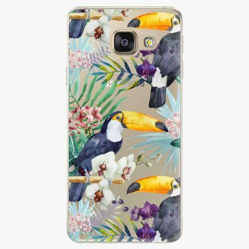 Plastový kryt iSaprio - Tucan Pattern 01 - Samsung Galaxy A5 2016