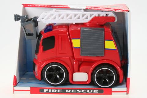 Požární auto na setrvačník se světlem