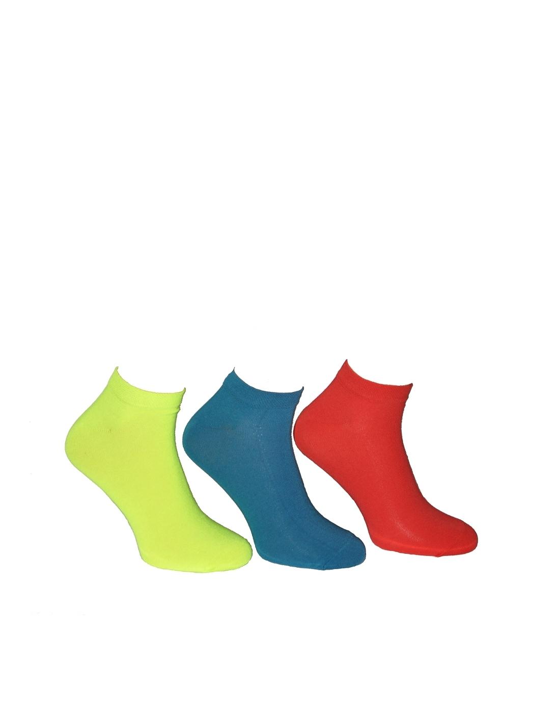 Pánské kotníkové ponožky Steven barevné art.045