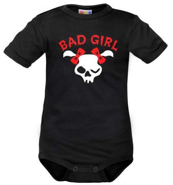 body-kratky-rukav-dejna-bad-girl-cerne-vel-68-68-4-6m