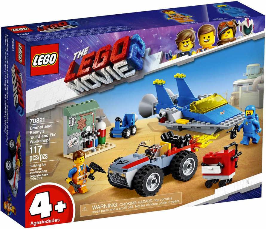 LEGO MOVIE PŘÍBĚH 2: Emmetova a Bennyho dílna 70821