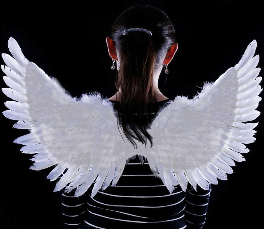 KARNEVAL Křídla andělská třpytivá KARNEVALOVÝ DOPLNĚK