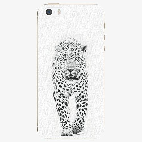 Plastový kryt iSaprio - White Jaguar - iPhone 5/5S/SE