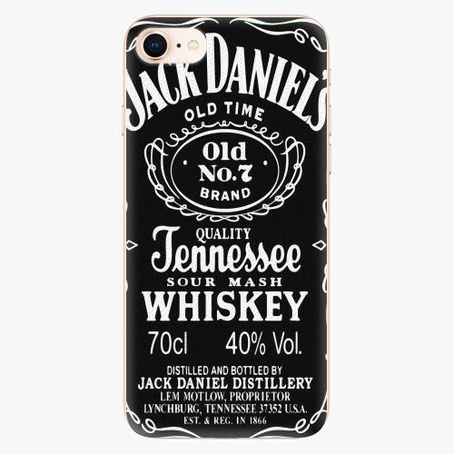 Plastový kryt iSaprio - Jack Daniels - iPhone 8