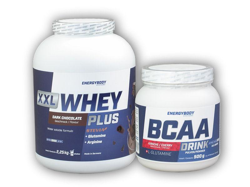 XXL Whey Plus Protein 2,25kg+ BCAA Drink