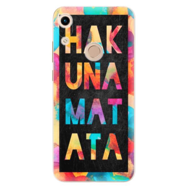 Odolné silikonové pouzdro iSaprio - Hakuna Matata 01 - Huawei Honor 8A