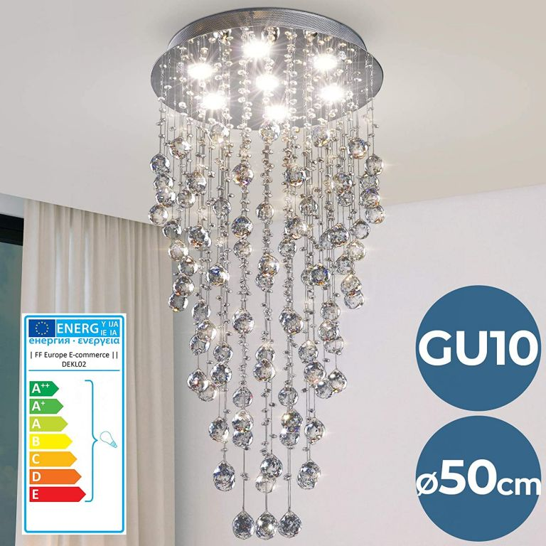 Křišťálový lustr, 100 cm