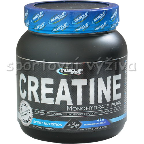 Creatine Monohydrate Pure 500g