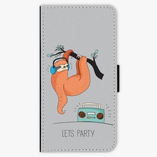 Flipové pouzdro iSaprio - Lets Party 01 - iPhone 5/5S/SE