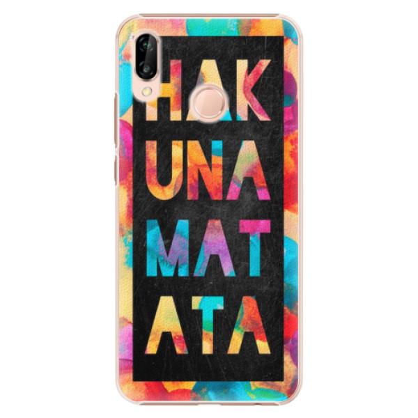 Plastové pouzdro iSaprio - Hakuna Matata 01 - Huawei P20 Lite