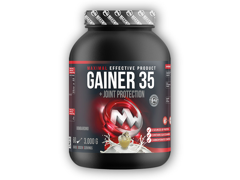 Gainer 35 - 3000g-vanilka