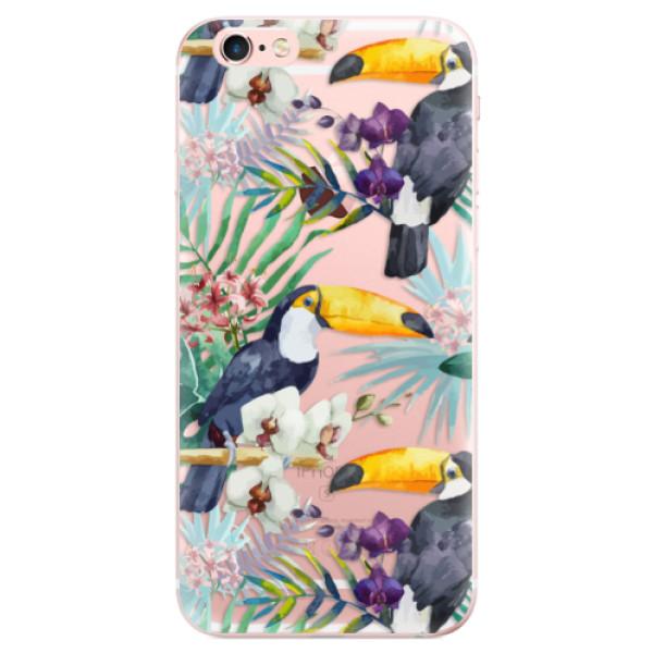 Odolné silikonové pouzdro iSaprio - Tucan Pattern 01 - iPhone 6 Plus/6S Plus