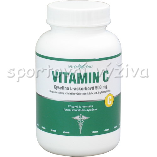 Vitamin C 500mg 60 kapslí