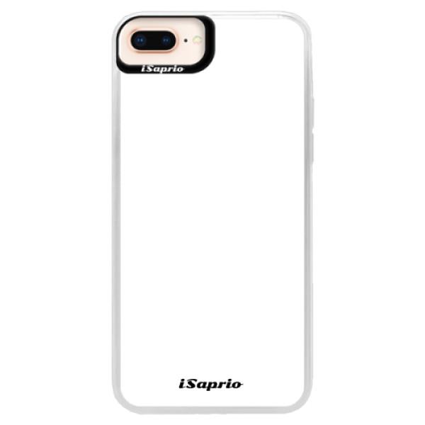 Neonové pouzdro Pink iSaprio - 4Pure - bílý - iPhone 8 Plus