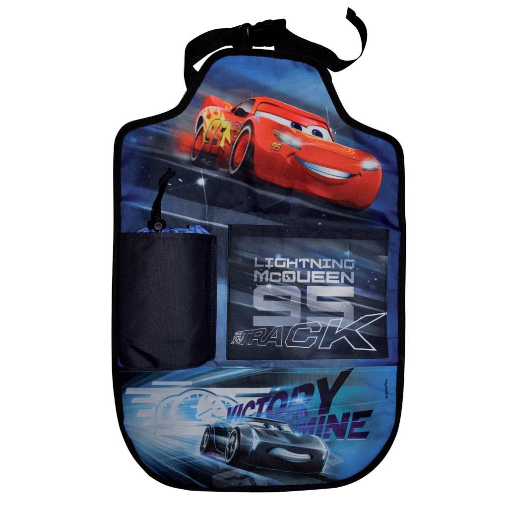 Kapsář do auta - Disney Cars 2 40x60 cm - černá