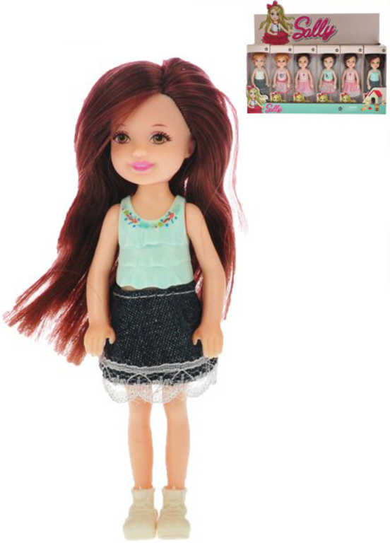 Panenka Sally 13 cm - 5 druhů