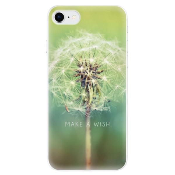 Odolné silikonové pouzdro iSaprio - Wish - iPhone SE 2020