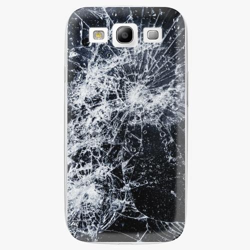 Plastový kryt iSaprio - Cracked - Samsung Galaxy S3