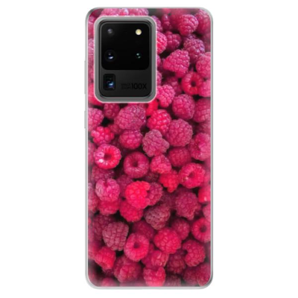 Odolné silikonové pouzdro iSaprio - Raspberry - Samsung Galaxy S20 Ultra