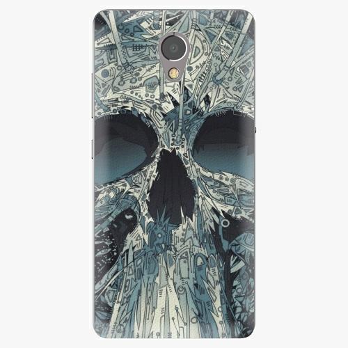 Plastový kryt iSaprio - Abstract Skull - Lenovo P2