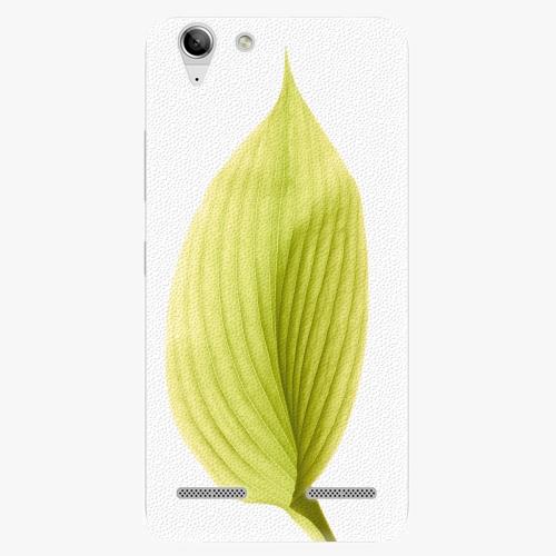 Plastový kryt iSaprio - Green Leaf - Lenovo Vibe K5
