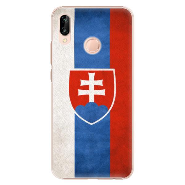 Plastové pouzdro iSaprio - Slovakia Flag - Huawei P20 Lite