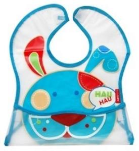 Dětská zástěrka Pejsek - modrý