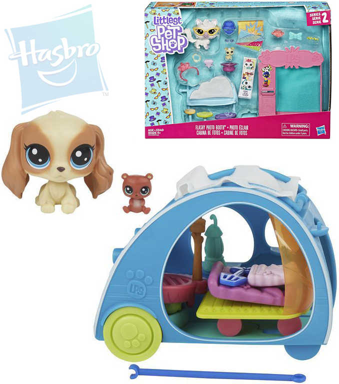 HASBRO LPS Littlest Pet Shop tématický set se zvířátkem 2 ks - 2 druhy