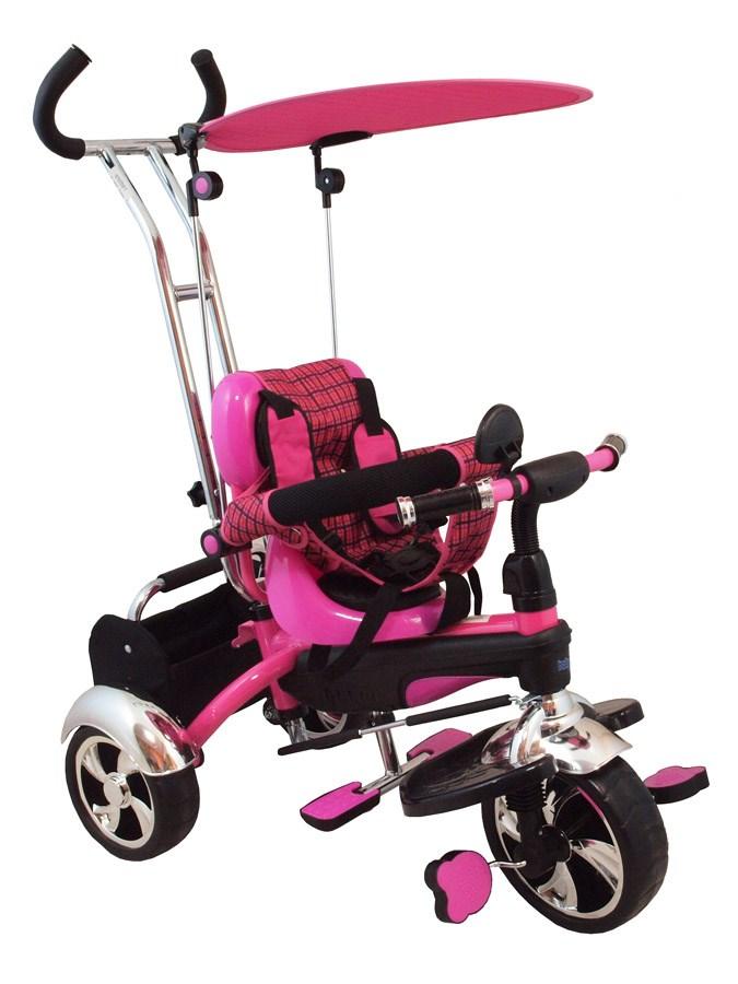 Dětská tříkolka Baby Mix pink - růžová