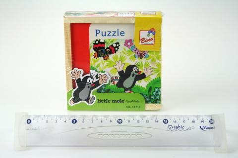 První puzzle - Krtek, 16 dílů