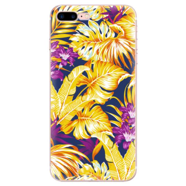 Odolné silikonové pouzdro iSaprio - Tropical Orange 04 - iPhone 7 Plus
