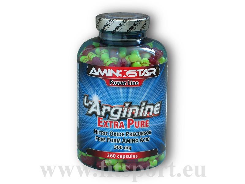 L-Arginine Extra Pure 360 kapslí