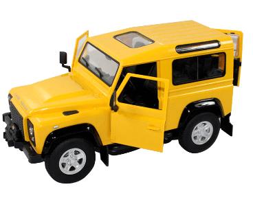 Land Rover Denfender 1:14 RTR - žlutý