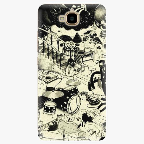 Plastový kryt iSaprio - Underground - Huawei Y6 Pro