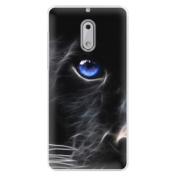 Plastové pouzdro iSaprio - Black Puma - Nokia 6