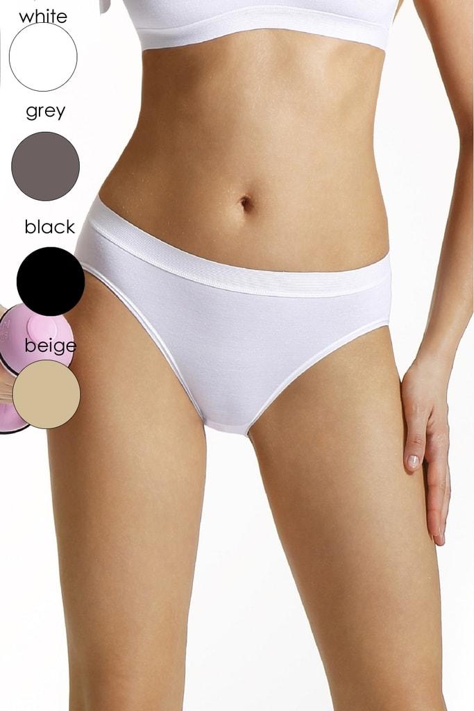 Dámské kalhotky Simone white - XL