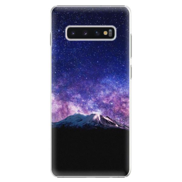 Plastové pouzdro iSaprio - Milky Way - Samsung Galaxy S10+