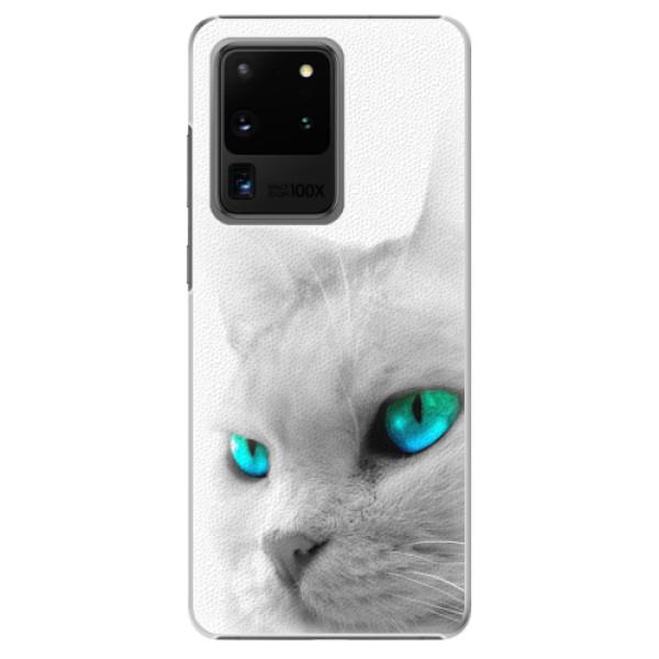 Plastové pouzdro iSaprio - Cats Eyes - Samsung Galaxy S20 Ultra