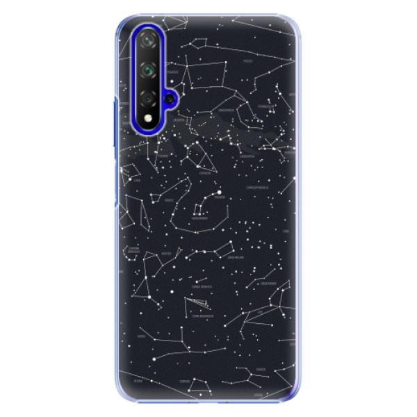 Plastové pouzdro iSaprio - Night Sky 01 - Huawei Honor 20