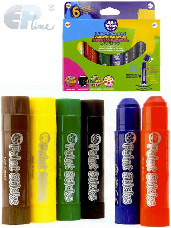 EP Line Vodovky set 6ks barvy dětské v tužce lehce smývatelné