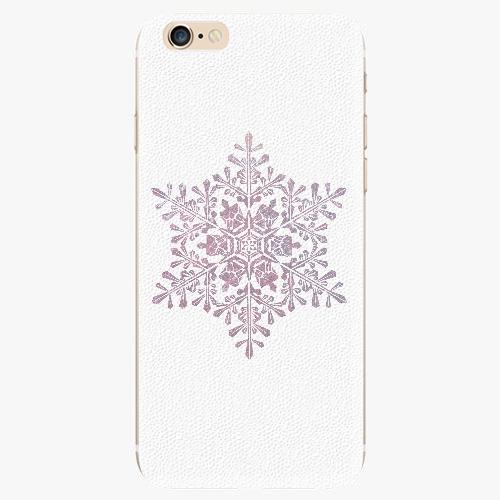 Silikonové pouzdro iSaprio - Snow Flake - iPhone 6/6S