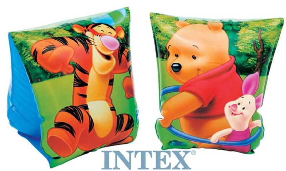 INTEX Dětské nafukovací rukávky Medvídek Pú 23 x 15cm 1 pár do vody