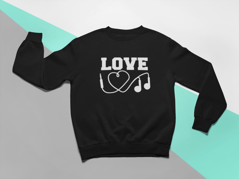 kidsbee-stylova-detska-divci-mikina-love-music-cerna-vel-110-110