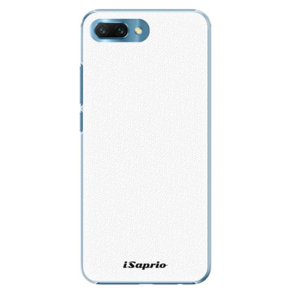 Plastové pouzdro iSaprio - 4Pure - bílý - Huawei Honor 10